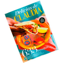Livro Delicias De Claudia 633 Receitas Editora Abril