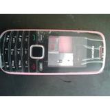Carcaça Rosa Nokia Modelo 1661