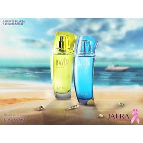 Jafra Set 2 Navigo Perfume Dama Oferta Envío Gratis