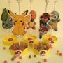 Centros De Mesa Pokemon Pikachu Simple Economico Goma Eva
