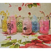 Frascos Vasos Decorados Para Souvenirs . Elegi El Diseño!