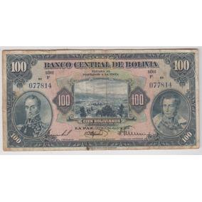 Bolivia Billete 100 Bolivianos Ley 1928