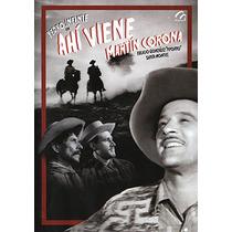Dvd Cine Oro Piporro Pedro Infante Ahi Viene Martin Corona