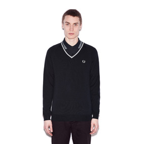 Sweater Fred Perry Hecho En Italia L Y M