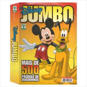 Lote 10 Gibis Disney Jumbo 6 Novos 500 Pág. Todos Iguais