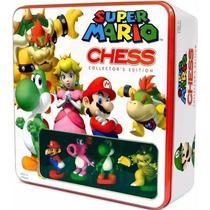 Jogo De Xadrez Super Mario Chess Collector´s Edition -