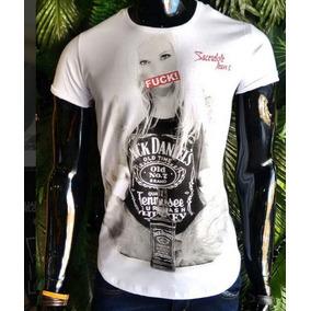 Camisa Sacerdote Oversized Jack Daniels 7001 G