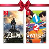 Juego The Zelda Breath The Wild + 1-2 Switch Nintendo Switch
