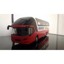 Miniatura Ônibus De Viagem Premier Express Eco8100 -vermelho