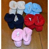Pantufla Polar Bebe Rec Nac Ultima Unidad Little Treasure.