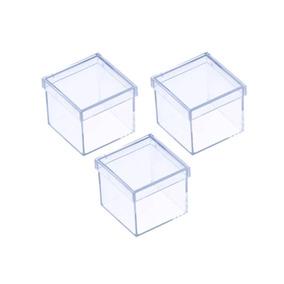 250 Caixinhas Acrílicas 4x4 Para Lembrancinhas /personalizar