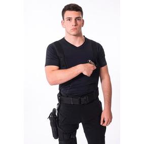 Remera Tactica Cover Cop Spy Oculta Sobaquera Manga Corta