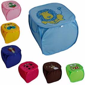 Cesto Organizador Infantil Dobrável Multi Brinquedos Roupas