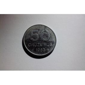 Moeda De 50 Cruzeiros De 1983