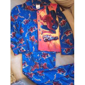 Pijamas Para Niños Spiderman Super Heroes