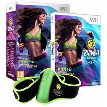 Zumba Fitness 2 +cinturón Fitness Nuevo