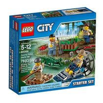 Lego City Policia Del Pantano Start 60066 Original