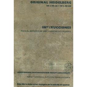 Manual Servicio Español Heidelberg 10 X 15 Minerva Mmy