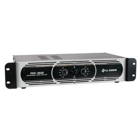 Amplificador Potencia Profissional L L Pro 2600 650w Rms