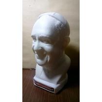Hermoso Busto Del Papa Francisco En Plastico Soplado
