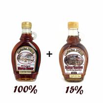 Xarope De Bordo Maple Syrup 100% E 15% Natural Canada Hachi8