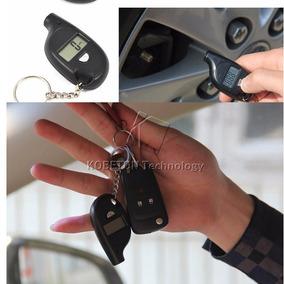 Calibrador De Pneu Digital Tipo Chaveiro.