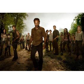 Poster A3 The Walking Dead Frete Grátis