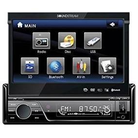 Estereo Soundstream Vir7830b 7-inch Flip-up Touch Bluetooth