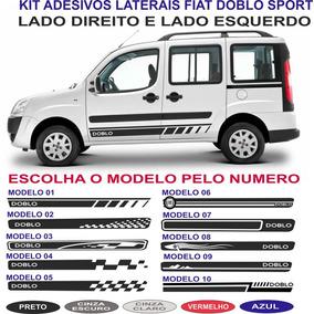 Acessorios Faixa Lateral Fiat Doblo Adesivos Sport