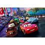 Painel Decorativo Festa Infantil Disney Carros Mcqueen(mod3)