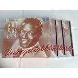 Cd Nat King Cole - Unforgettable - 5 Cds
