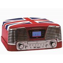 Toca Disco Ctx Harmony Bandeira Inglesa Lp/cd/fm/usb/sd/grav