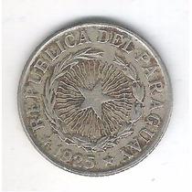 Paraguai 2 Pesos 1925 Cupro-níquel.