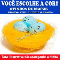 50 Ovos De Isopor Festa Galinha Pintadinha Páscoa Decoração