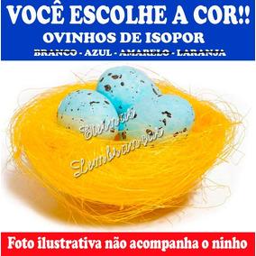 30 Ovos De Isopor Festa Galinha Pintadinha Páscoa Decoração