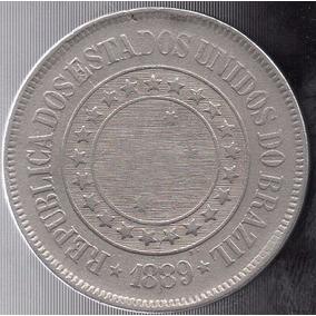 Moeda 200 Reis 1889 Ref 035