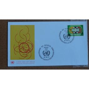 Naciones Unidas. Sobre De Primer Día De Emisión. 1971