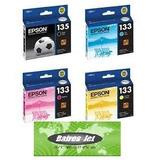 Juego Original Epson Stylus T25, Tx123, Tx125, Tx133, Tx135