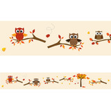 Faixa Decorativa - Corujas 3