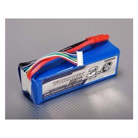 Lipo Bateria 3000mah 6s 30c Turnigy Trex Hk Walkera 500