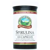 Spirulina Natures Sunshine Importada, B12, 100 Capsulas