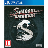 Ps4 Shadous Warrior Nuevo Sellado