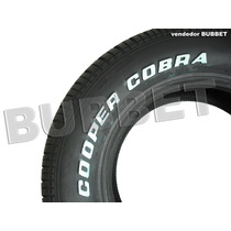 02 Pneus 225/70r14 Cooper Cobra P/ Opala Muscle Car Hot Rod