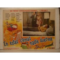 Resortes , En Estas Camas Nadie Duerme , Cartel De Cine