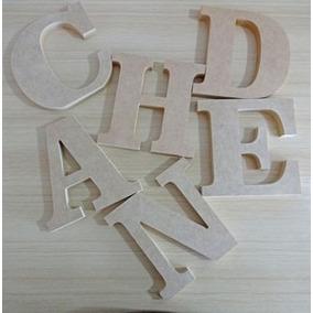 Letras Y Numeros, Figuras En Mdf Corte Laser 20cm