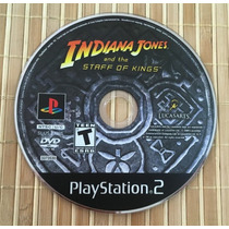 Indiana Jones And The Staff Of Kings Ps2 Sony Playstation 2