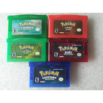 Pokemon Emerald + Firered + Leafgreen + Ruby + Sapphire