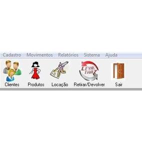 Software Para Locação Venda Roupas Fantasias
