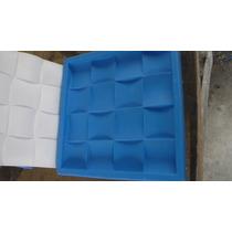 Forma Em Silicone Para Mosaico Em Gesso. Mod. Quadrado 27x27