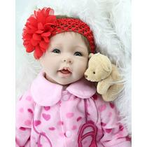 Boneca Bebê Reborn A Pronta Entrega Importada Silicone Macio